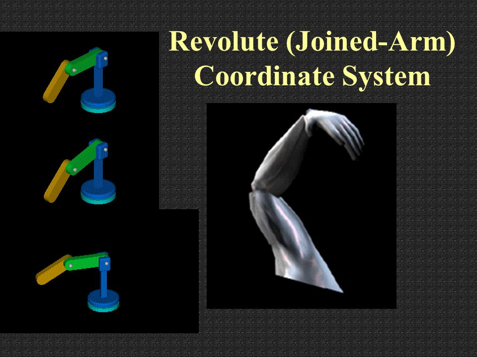 Revolute (Joined-Arm) Coordinate System gamma - Axis