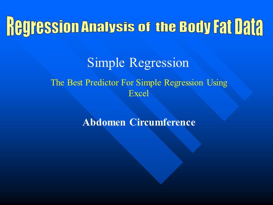 Elements of Regression Analysis F-Ratio F-Ratio T-Ratio T-Ratio