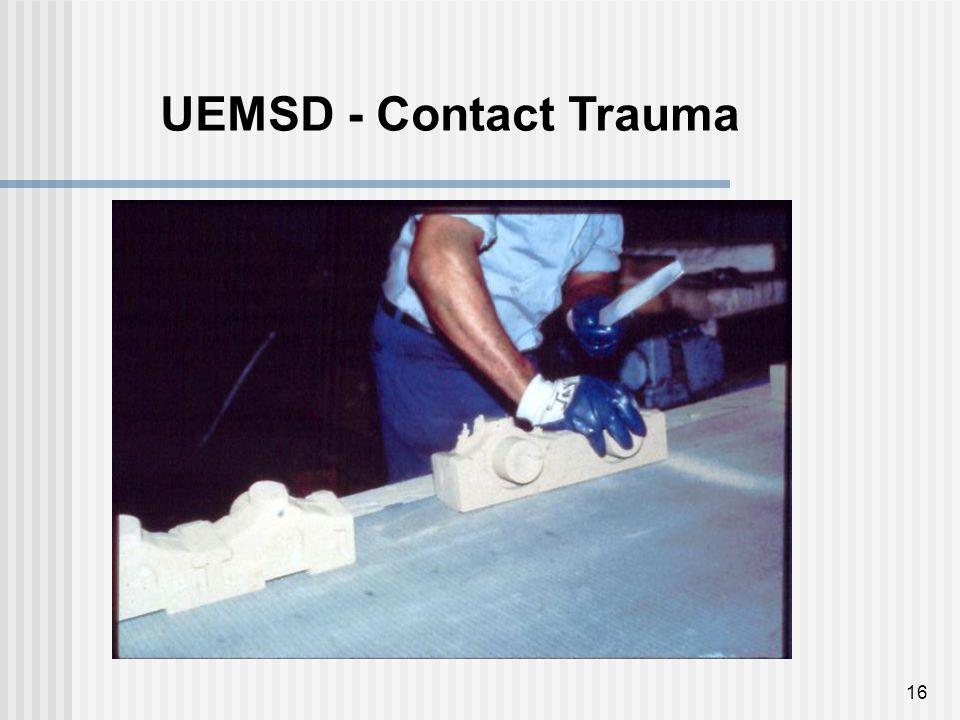 16 UEMSD - Contact Trauma