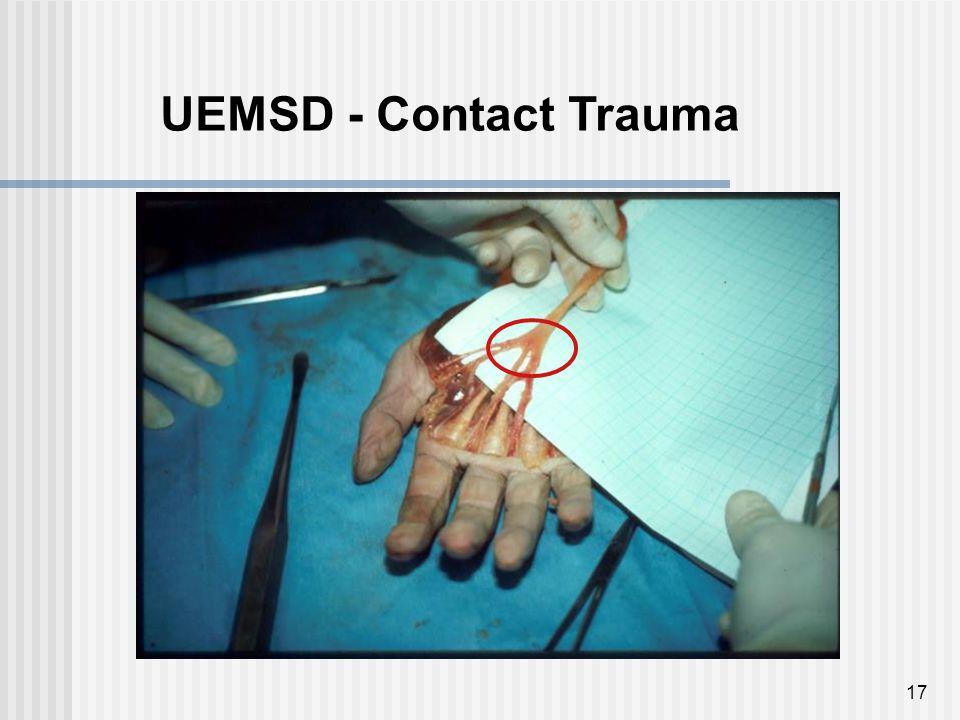 17 UEMSD - Contact Trauma
