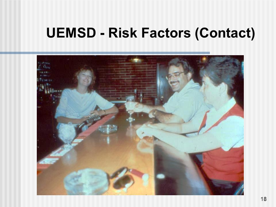 18 UEMSD - Risk Factors (Contact)
