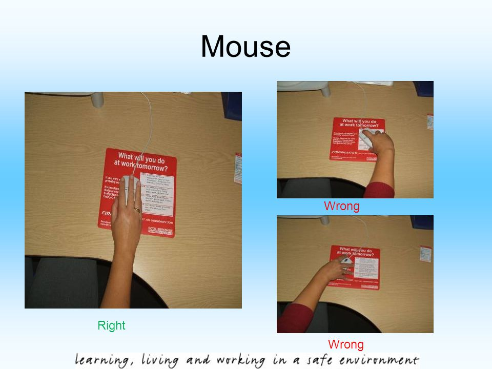 Mouse Right Wrong