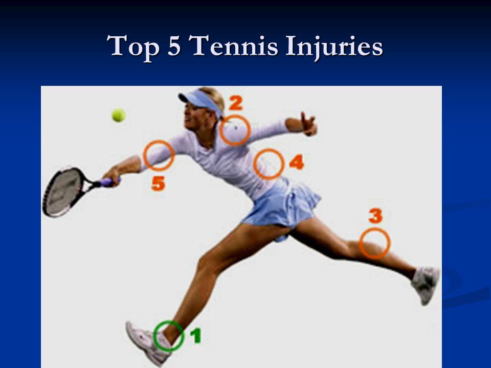 Top 5 Tennis Injuries