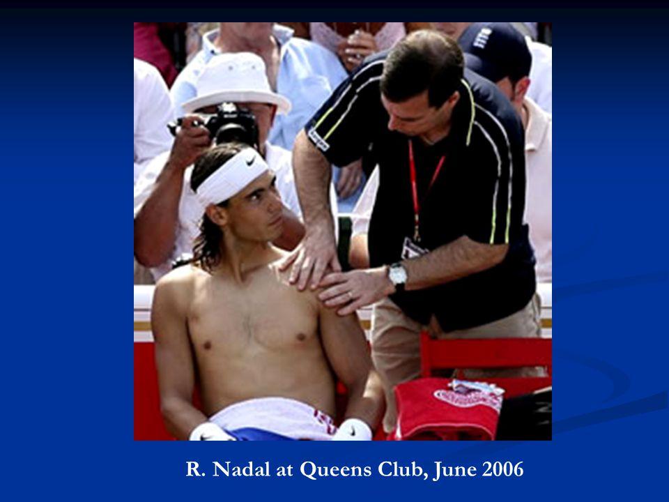 R. Nadal at Queens Club, June 2006