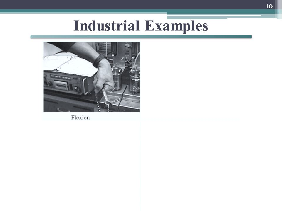 Industrial Examples 10