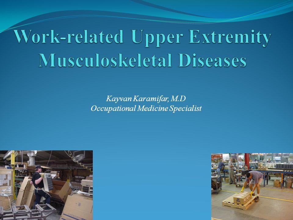 Kayvan Karamifar, M.D Occupational Medicine Specialist