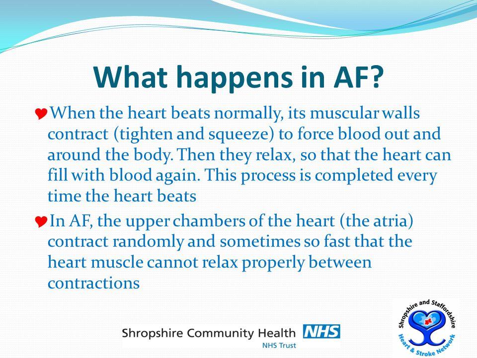 What causes AF.