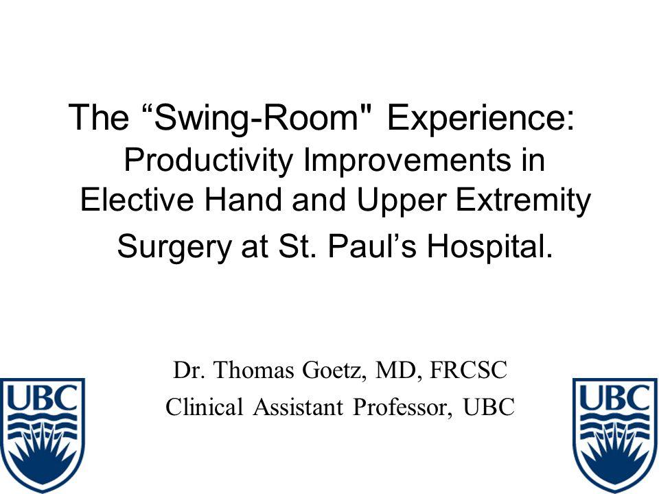 "The ""Swing-Room"