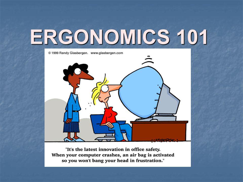 ERGONOMICS 101 An Overview