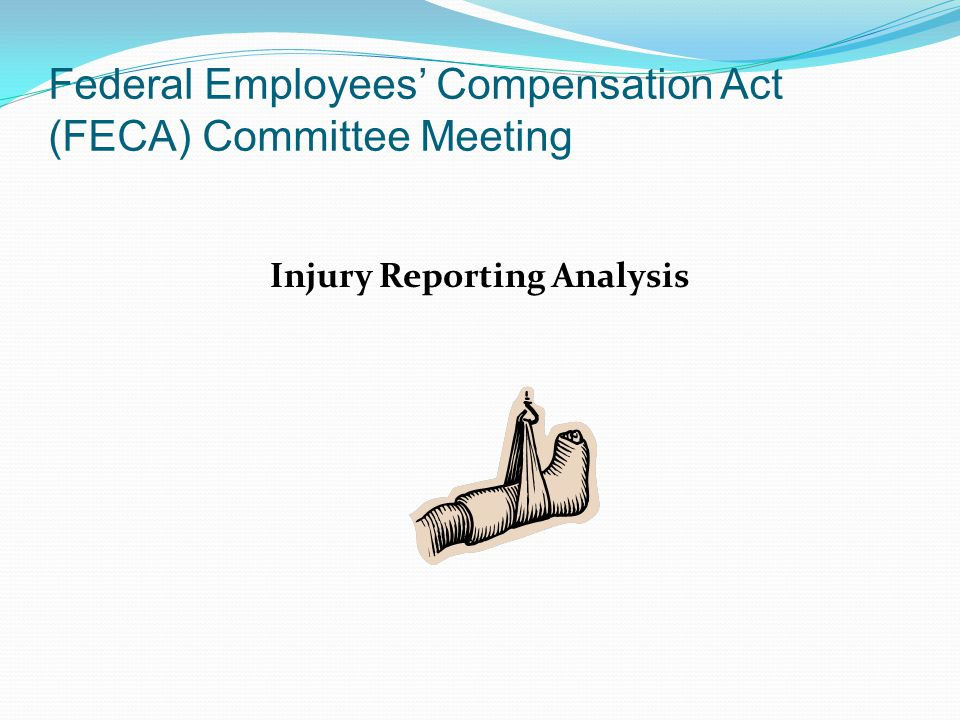 Federal Employees' Compensation Act (FECA) Committee Meeting Injury Reporting Analysis