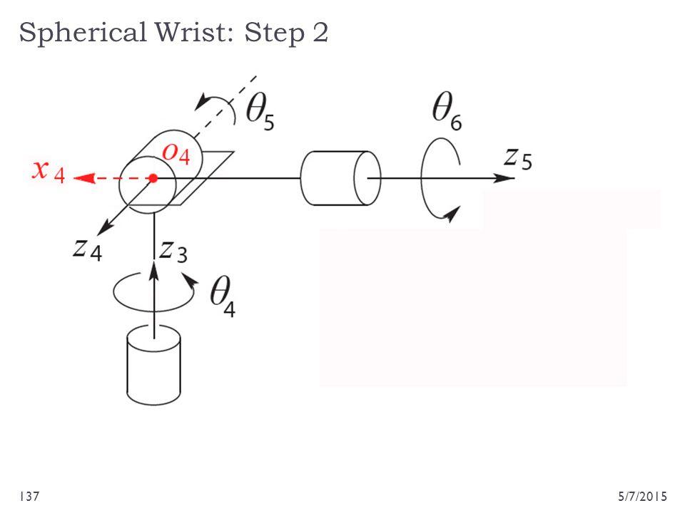 Spherical Wrist: Step 2 5/7/2015137