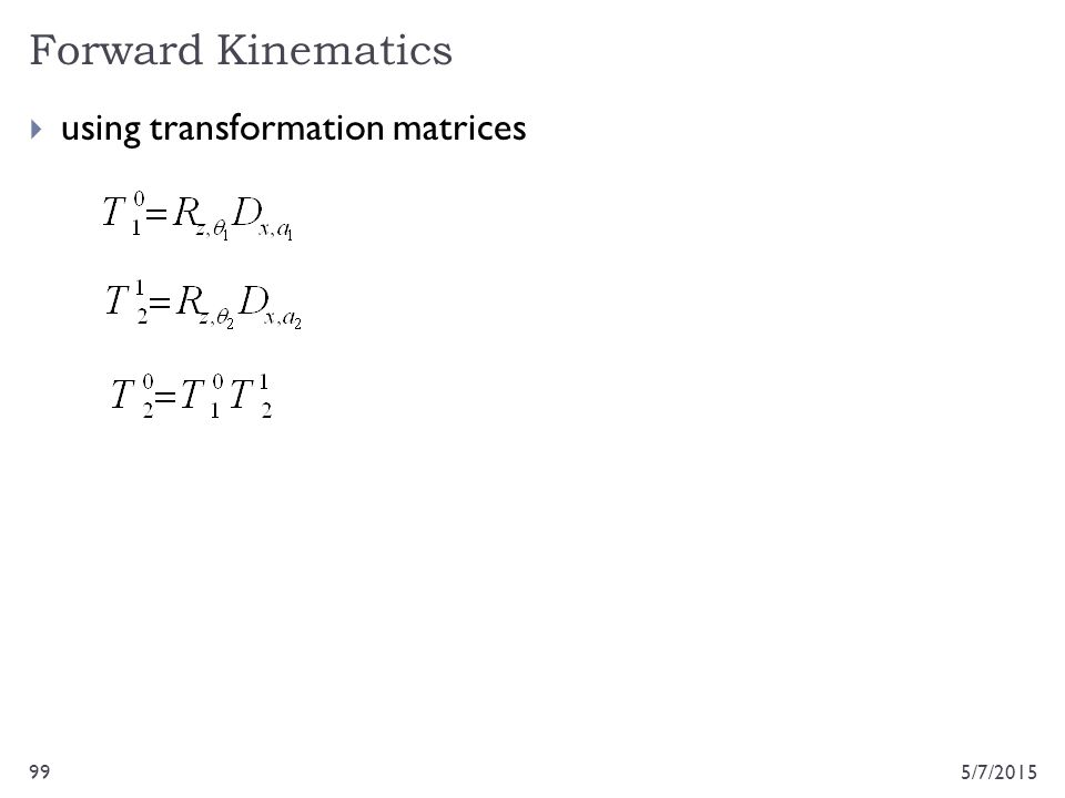 5/7/201599  using transformation matrices