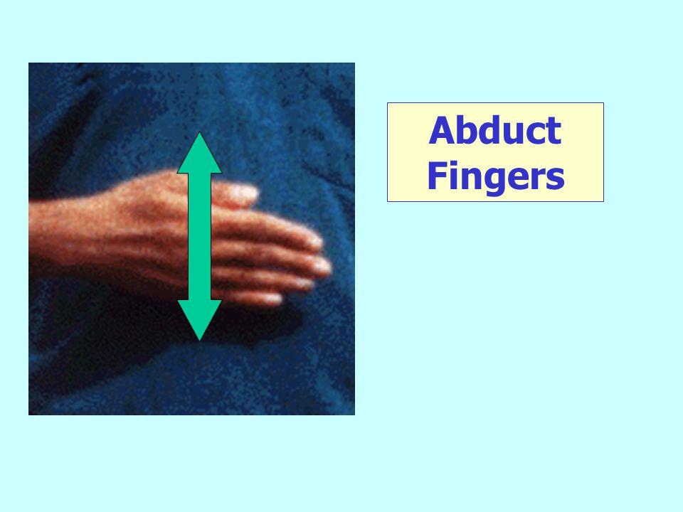 Abduct Fingers