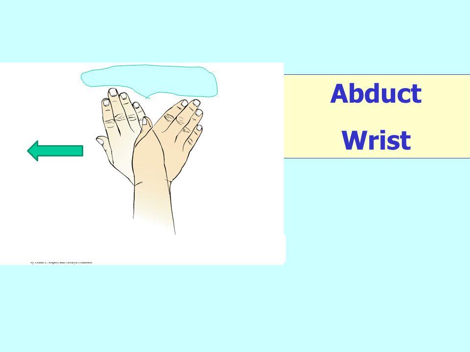 Abduct Wrist