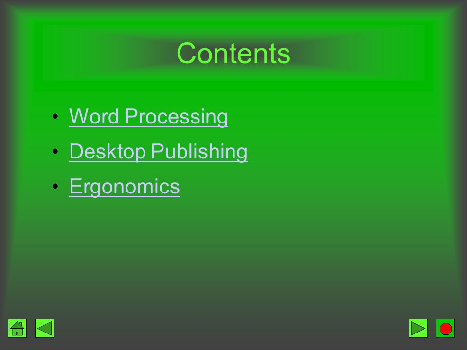 Objectives Explain the need for word processing List and describe the basic features of word processing programs Describe spelling checkers and thesaurus programs Explain the value of collaboration using word processing and the Web Describe the advantages of desktop publishing Describe desktop publishing terminology