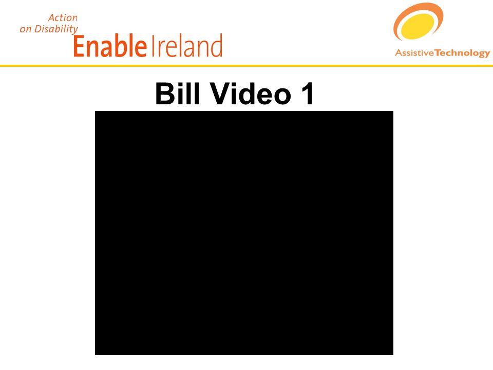 Bill Video 1