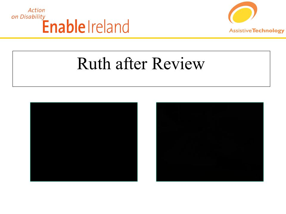 Ruth after Review
