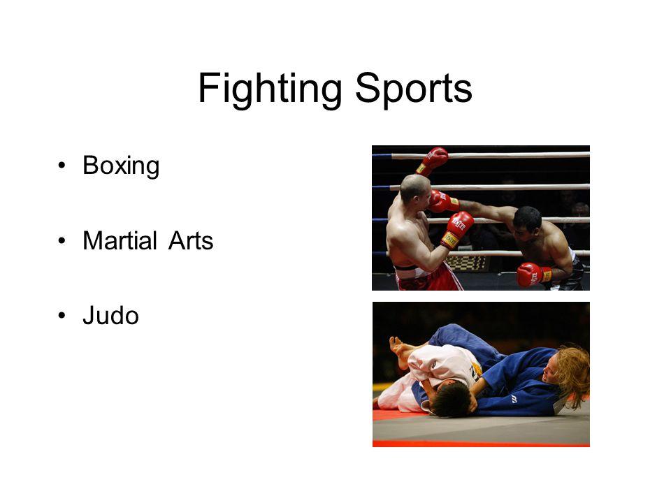 Fighting Sports Boxing Martial Arts Judo