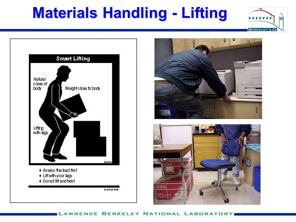 Materials Handling - Lifting