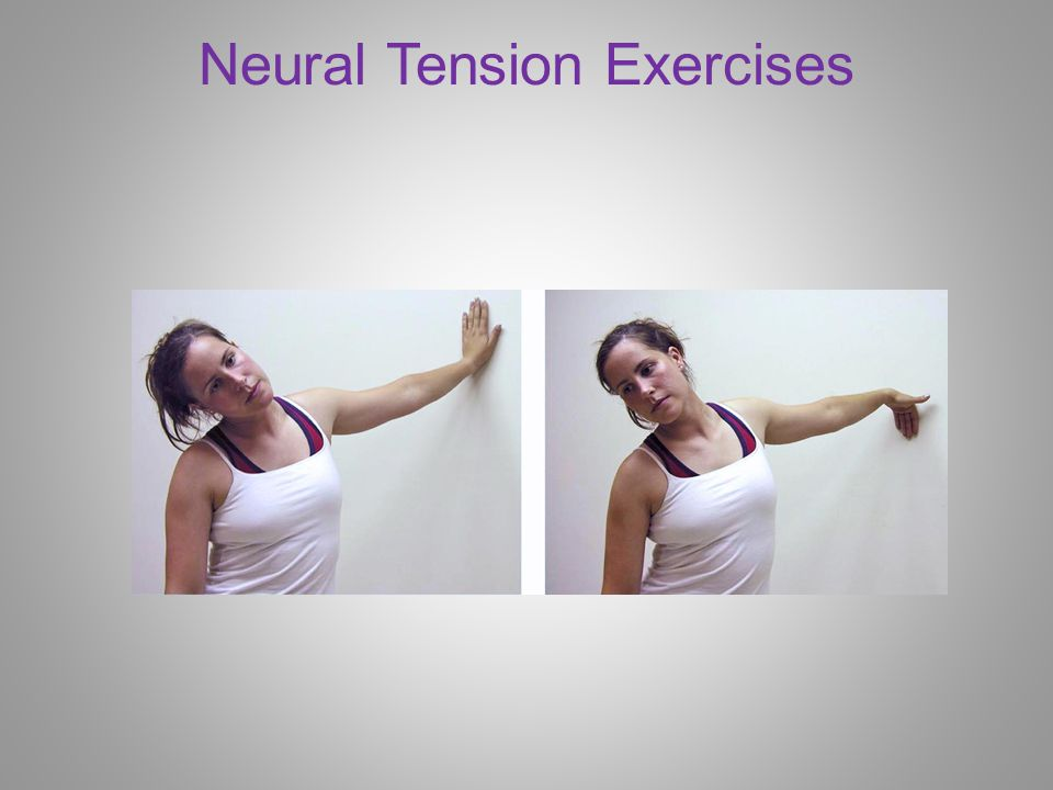 Neural Tension Exercises