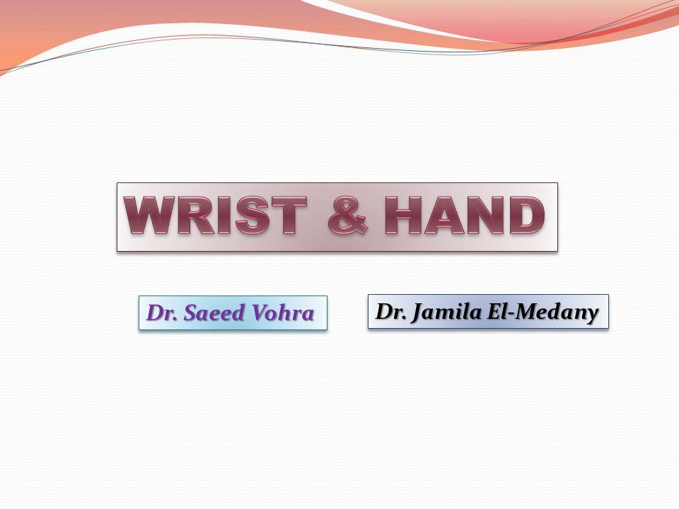 Dr. Saeed Vohra Dr. Jamila El-Medany