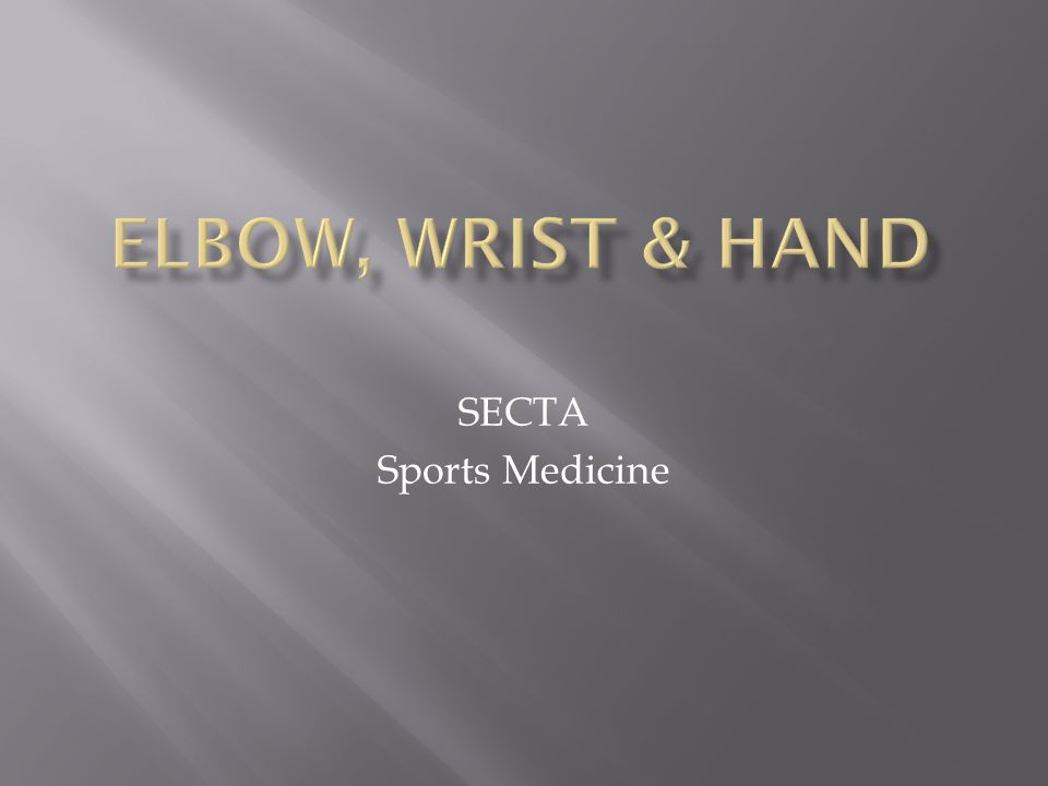 SECTA Sports Medicine