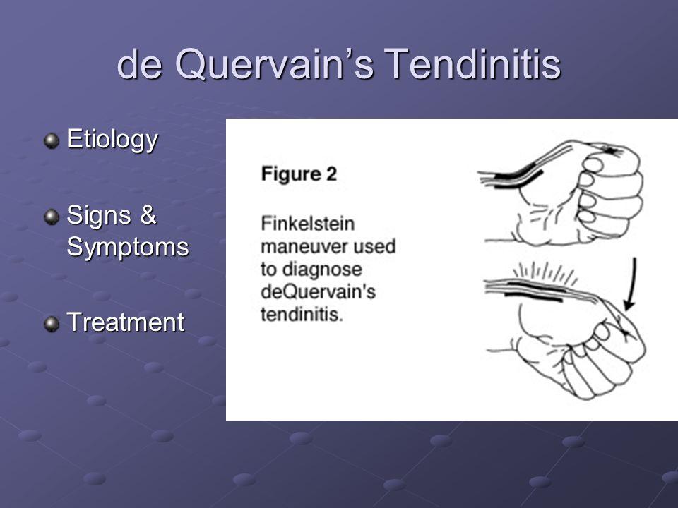 Gamekeeper's Thumb Etiology Signs & Symptoms Treatment