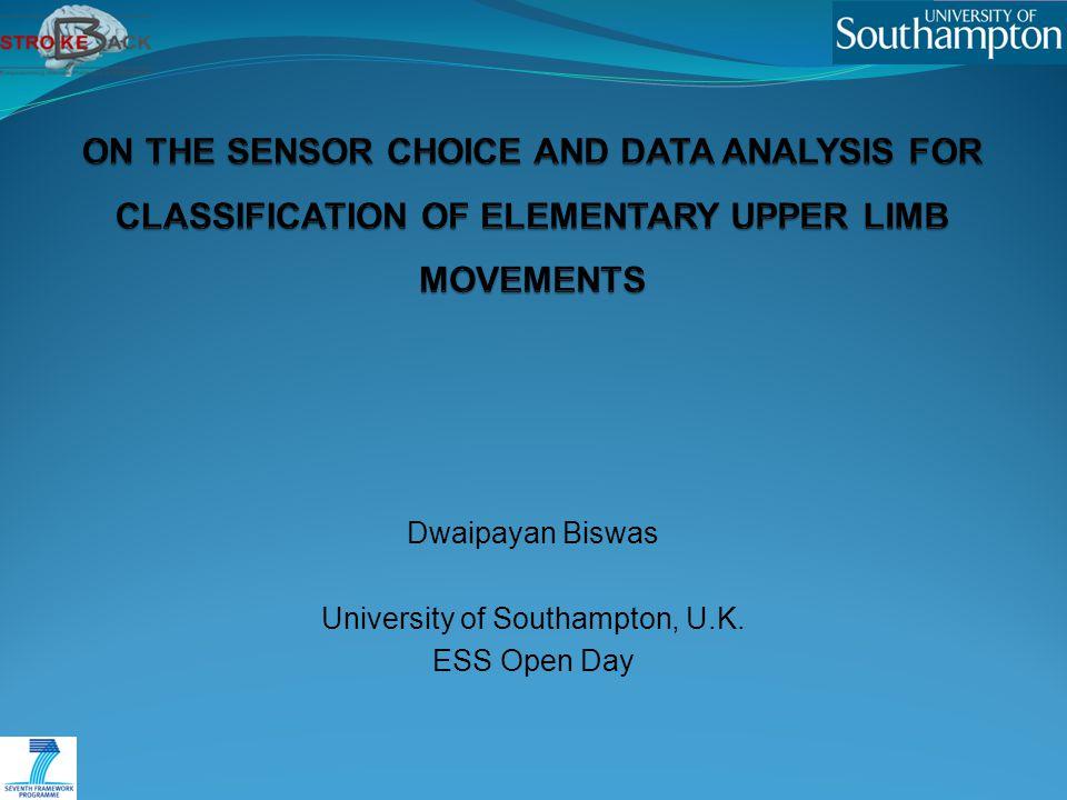 Dwaipayan Biswas University of Southampton, U.K. ESS Open Day