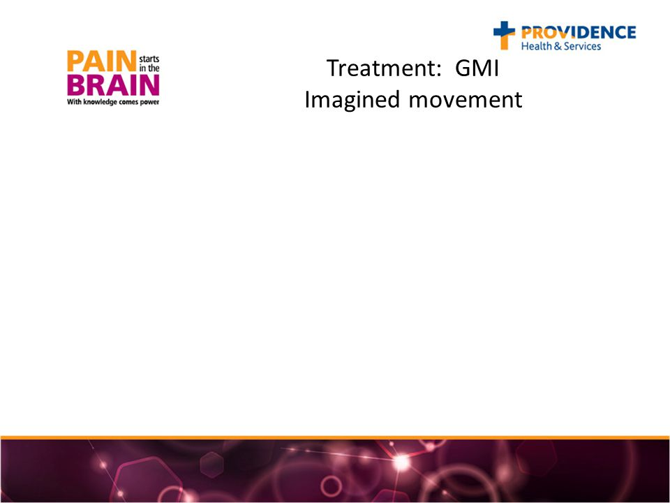 Treatment: GMI Imagined movement