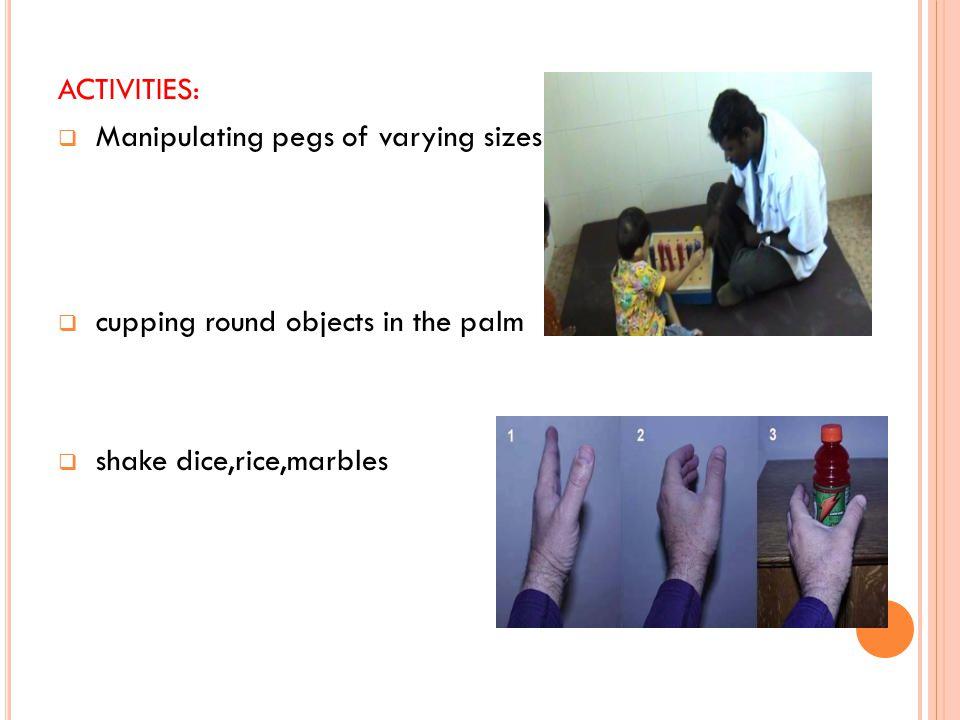 ARCH DEVELOPMENT: Transverse longitudinal oblique (side to side) (fingertip to wrist) (diagonal)