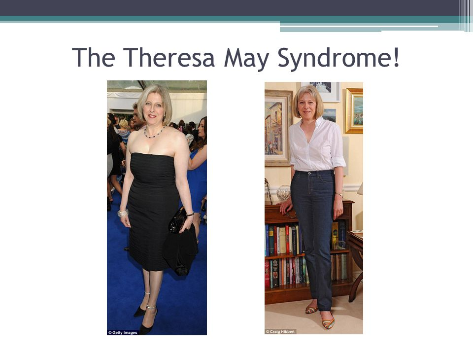 The Theresa May Syndrome!