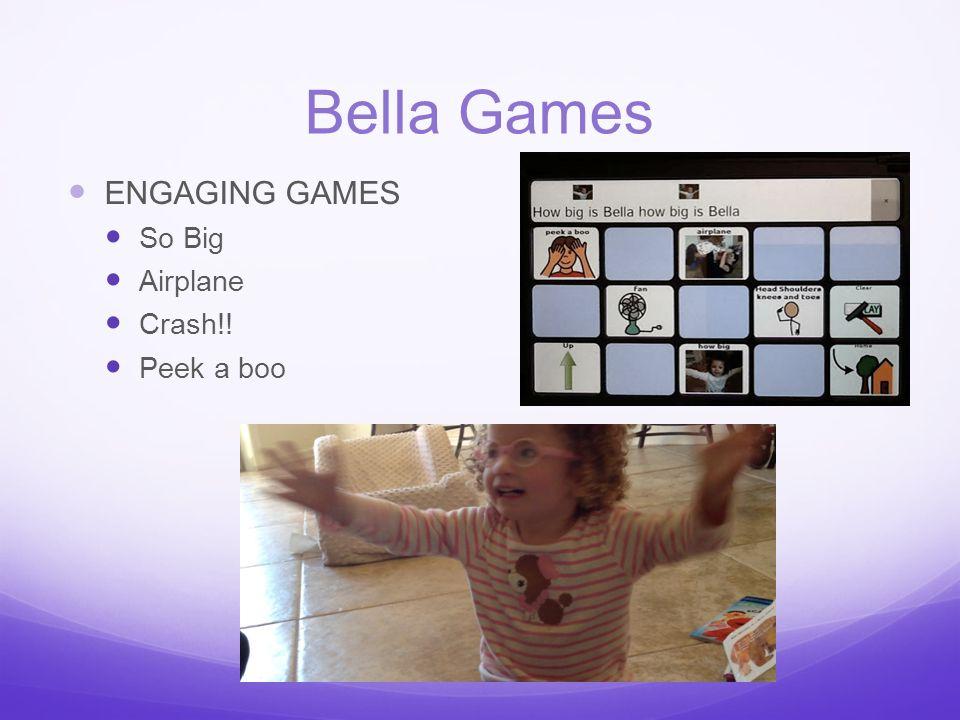 Bella Games ENGAGING GAMES So Big Airplane Crash!! Peek a boo