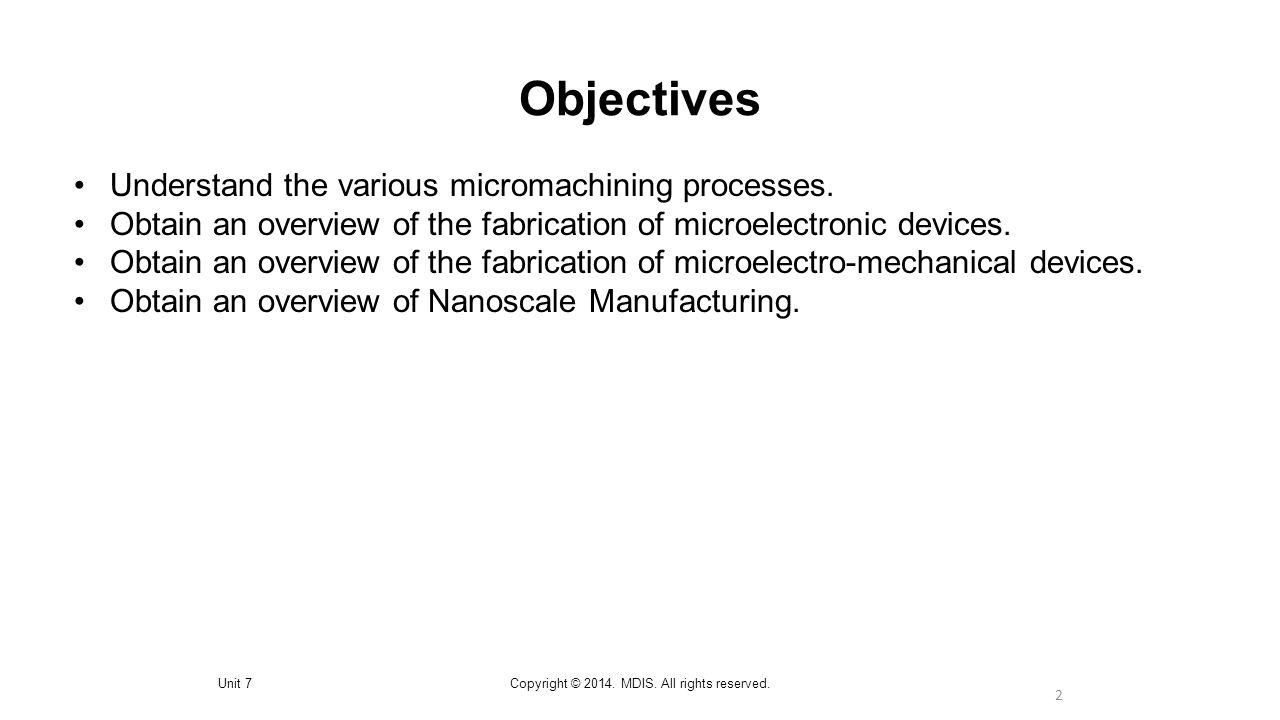 Nanoscale Manufacturing 23