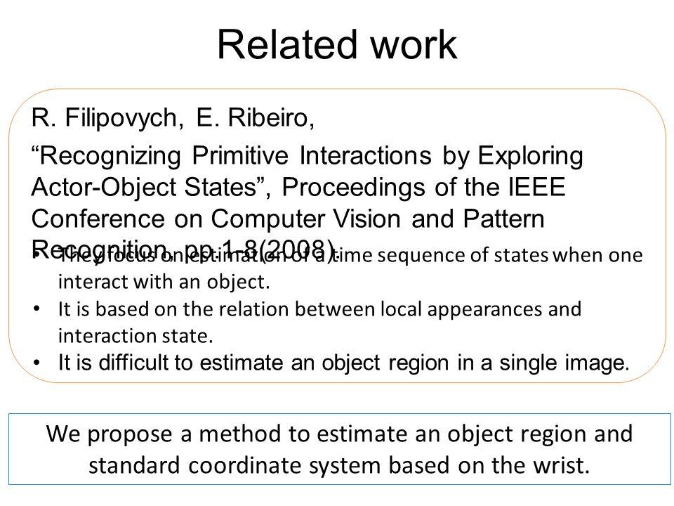 Related work R. Filipovych, E.