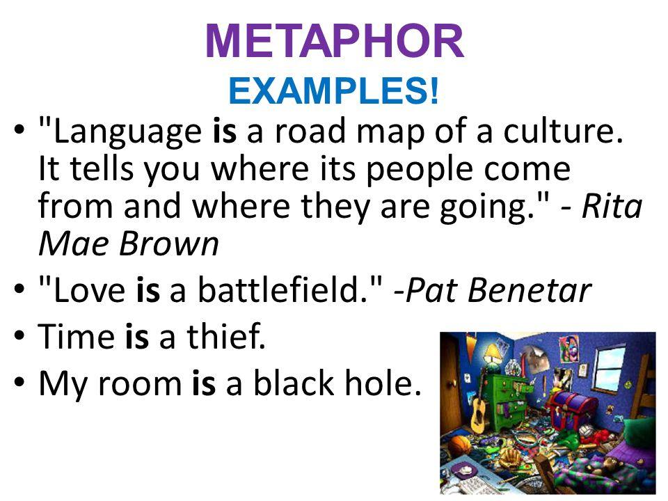 METAPHOR EXAMPLES!