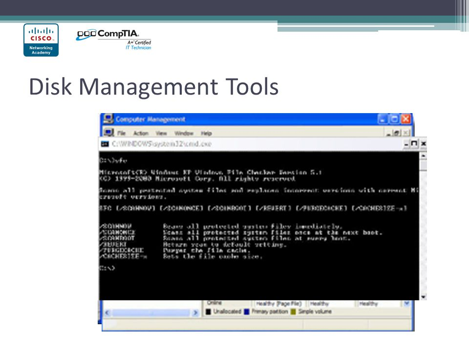 Disk Management Tools