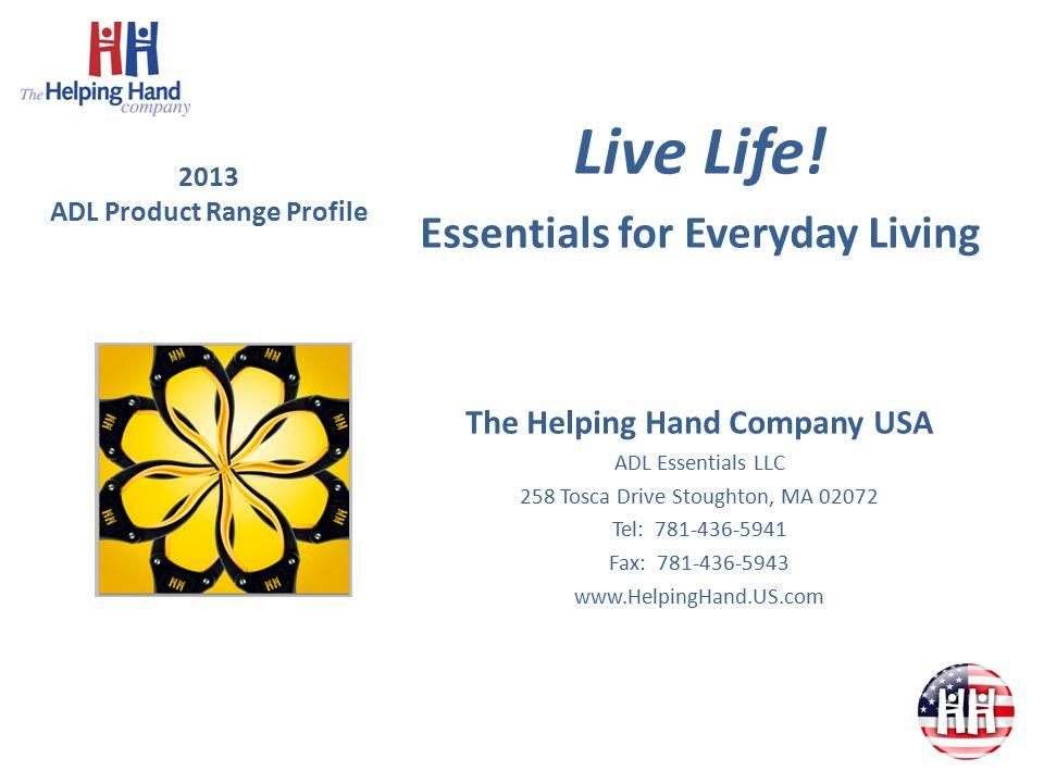 2013 ADL Product Range Profile Live Life.