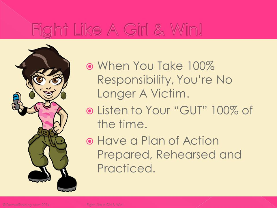  When You Take 100% Responsibility, You're No Longer A Victim.