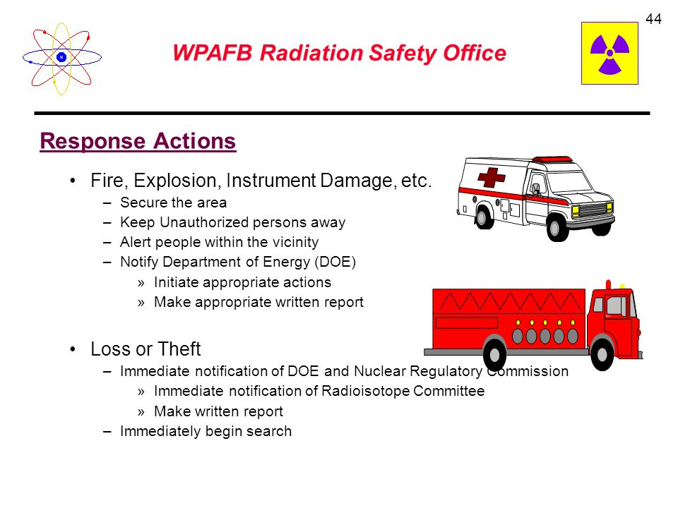 WPAFB Radiation Safety Office 43 PaperPlastic Lead Concrete Alpha Beta Gamma and X-rays Neutron Shielding