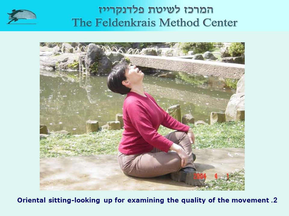 3. Sitting, your knees bend apart from each other, support yourself with hands