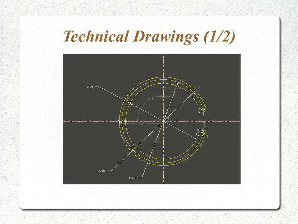 Technical Drawings (1/2)