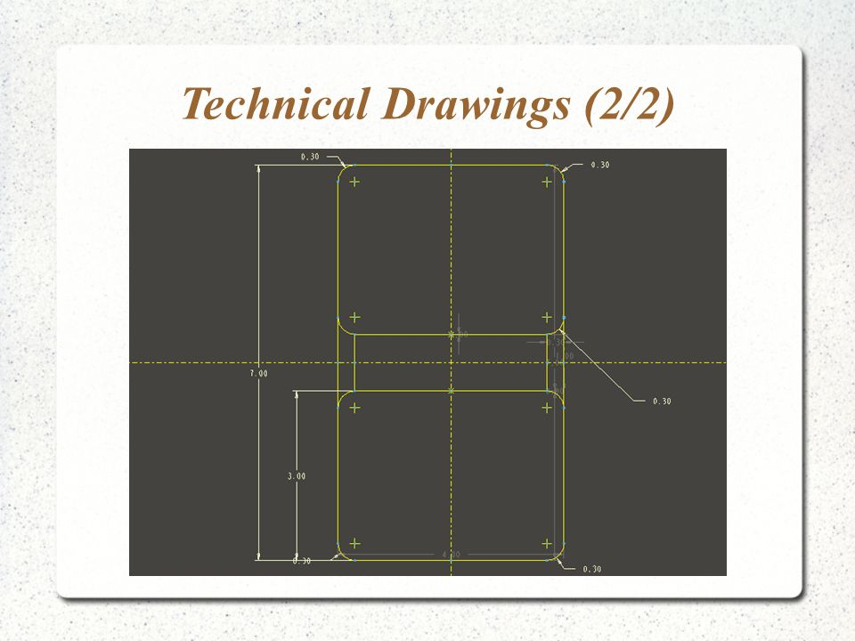 Technical Drawings (2/2)
