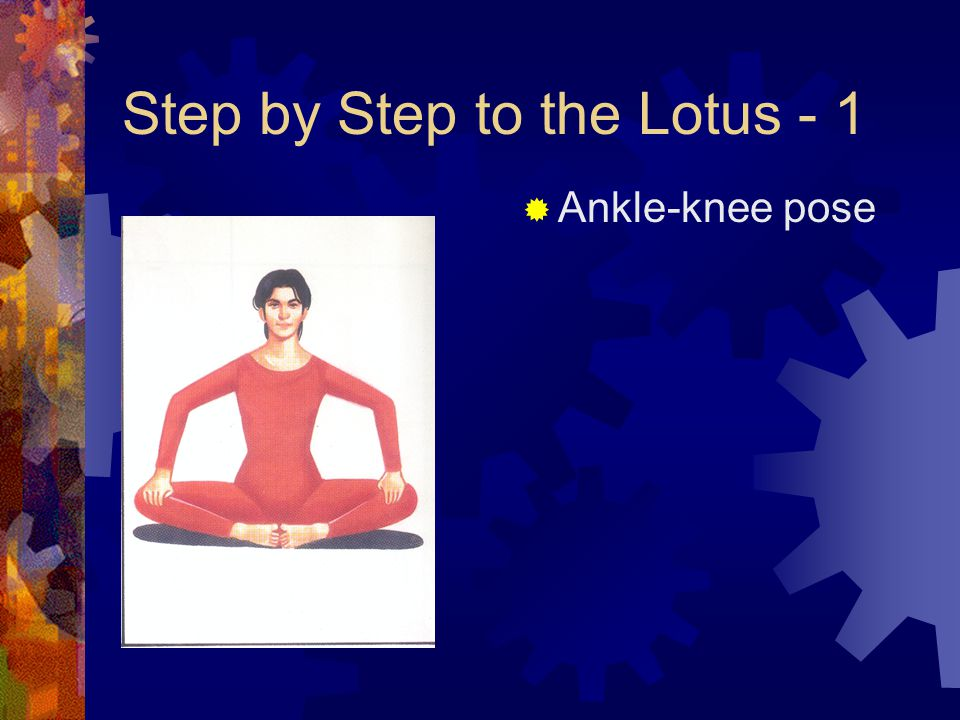 Step by Step to the Lotus - 1  Ankle-knee pose