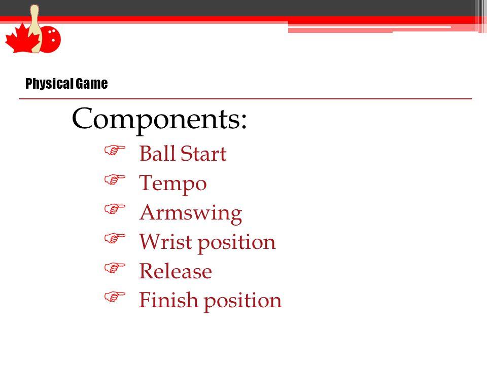 Hand Position - Release Straight Ball 12 / 6 Hook Ball (RH) 11/ 5