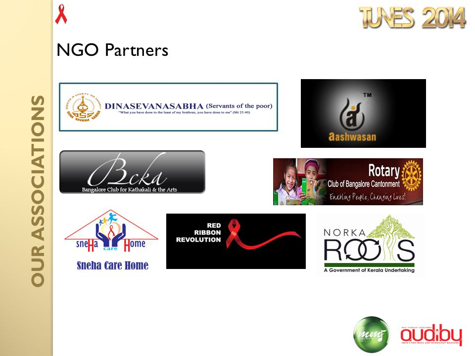 NGO Partners OUR ASSOCIATIONS