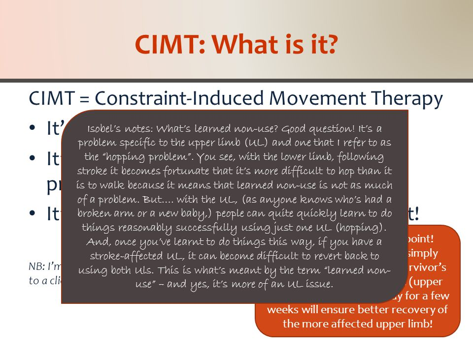 CIMT: What's RTP.