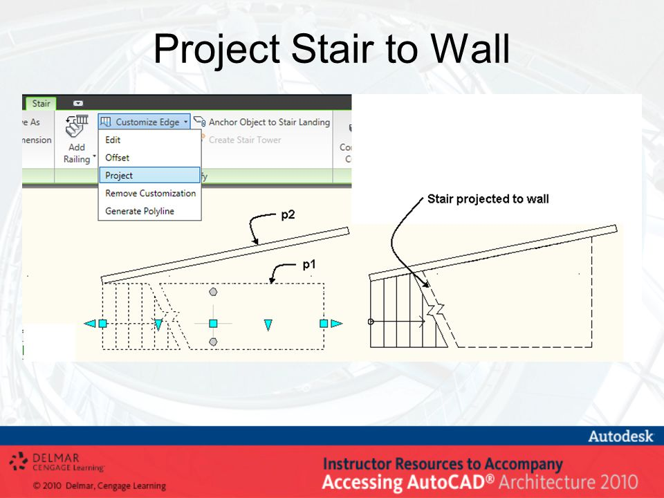 Project Stair to Wall