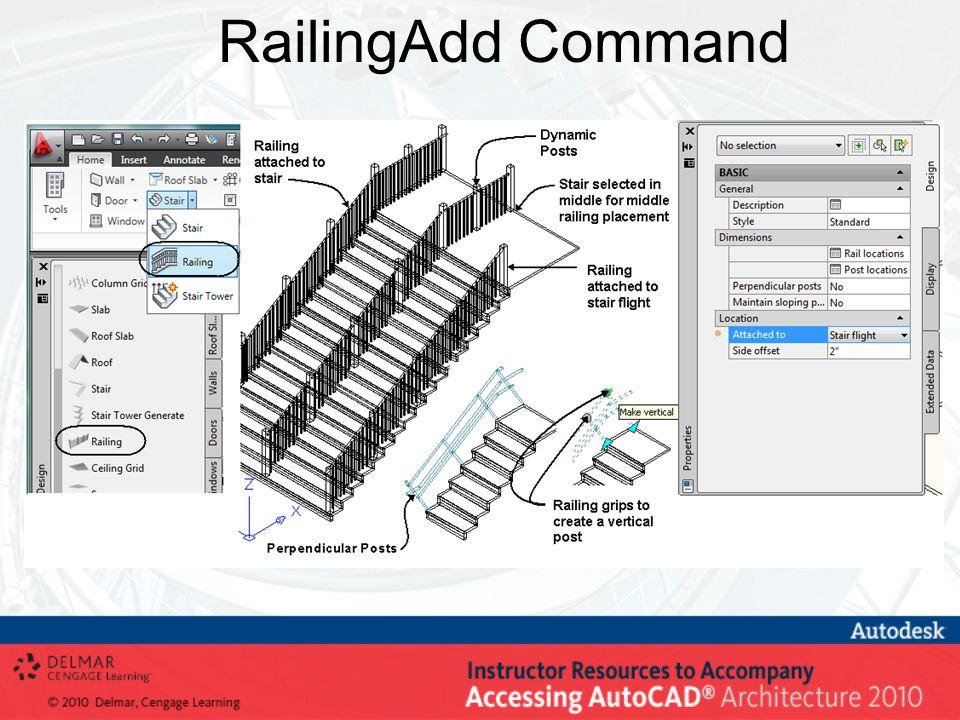 RailingAdd Command
