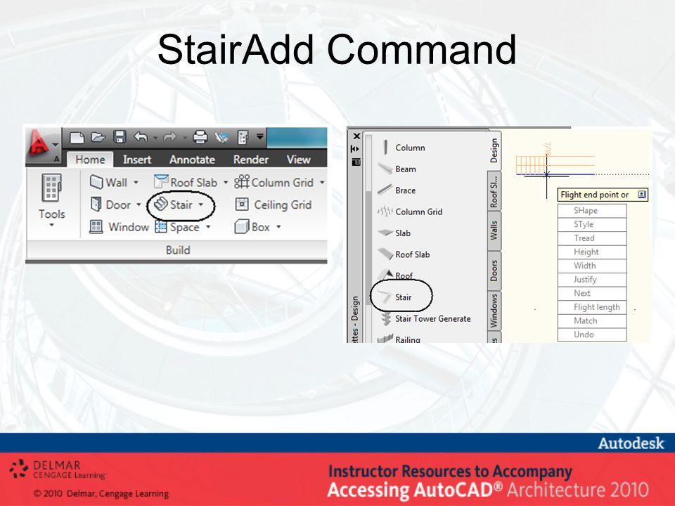 StairAdd Command
