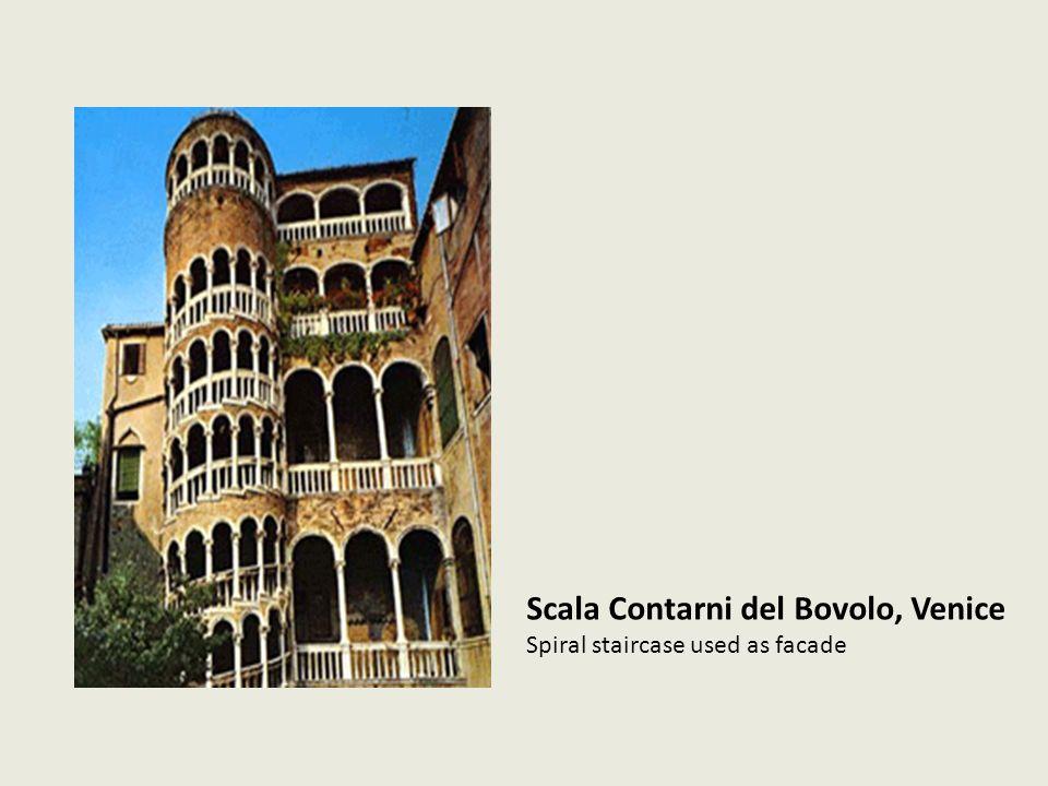 Scala Contarni del Bovolo, Venice Spiral staircase used as facade